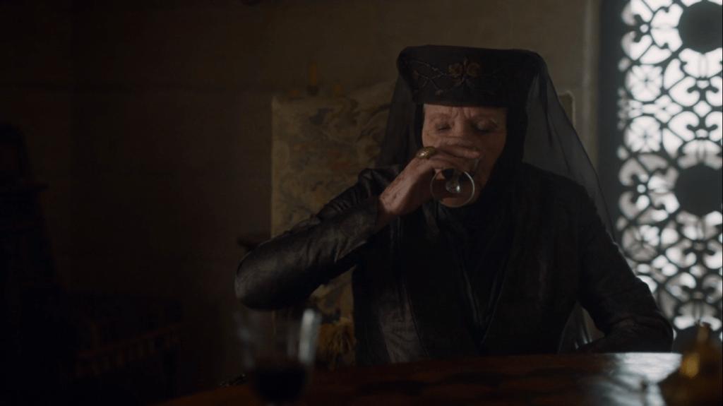 lady olenna morre em game of thrones