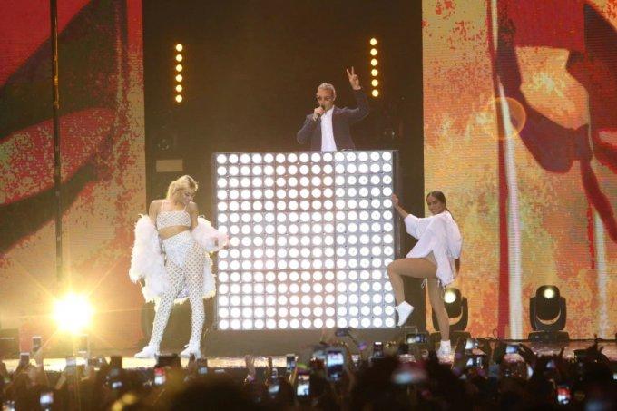 Pabllo Vittar, Diplo e Anitta no Prêmio Multishow 2017