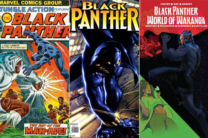 Pantera Negra HQs essenciais