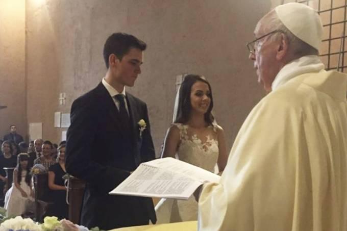 papa francisco casamento brasileira