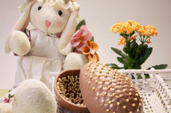 ovo de páscoa crocante