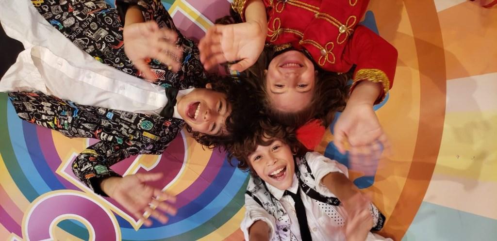 O grupo Patotinha Mágica, de Verão 90