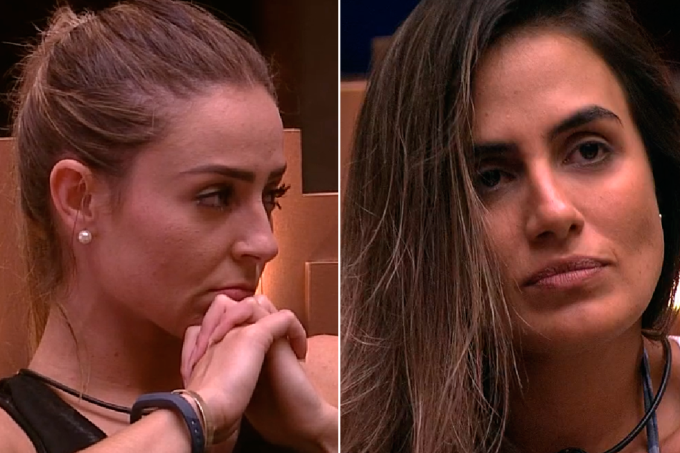 Paula e Carol no paredão do BBB19
