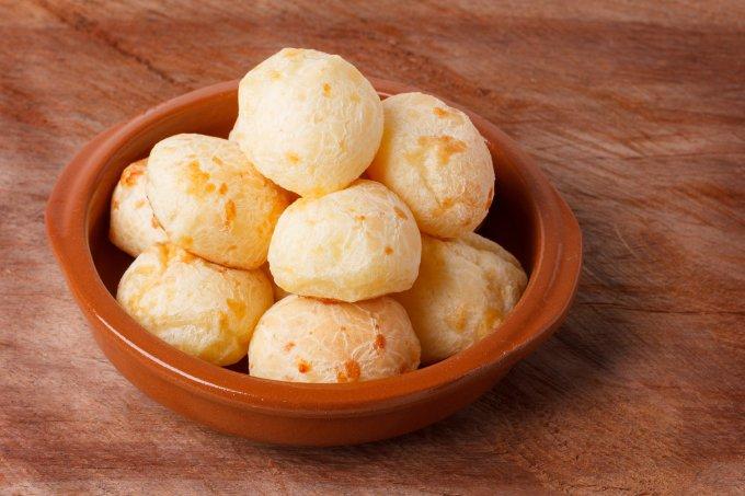 Receitas de pão de queijo