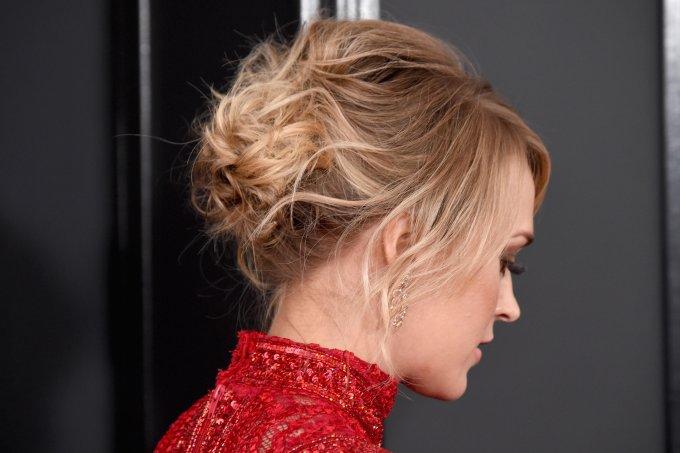 Penteado para cabelo médio
