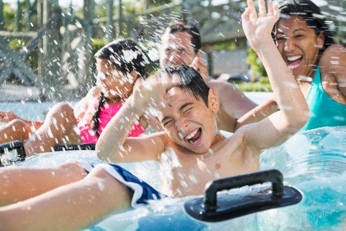 Perigos em parques aquáticos