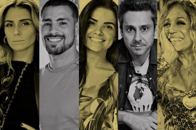 Caiuá Franco, João Cotta e João Miguel Júnior/TV Globo