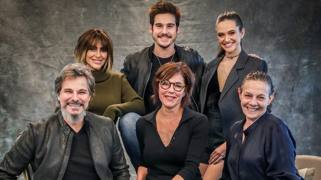 Os atores da novela O Tempo Não Para