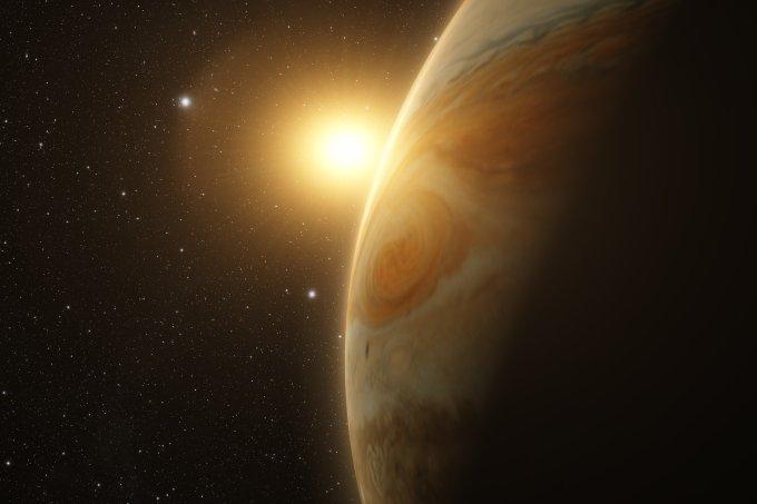 Planeta Júpiter em 2018