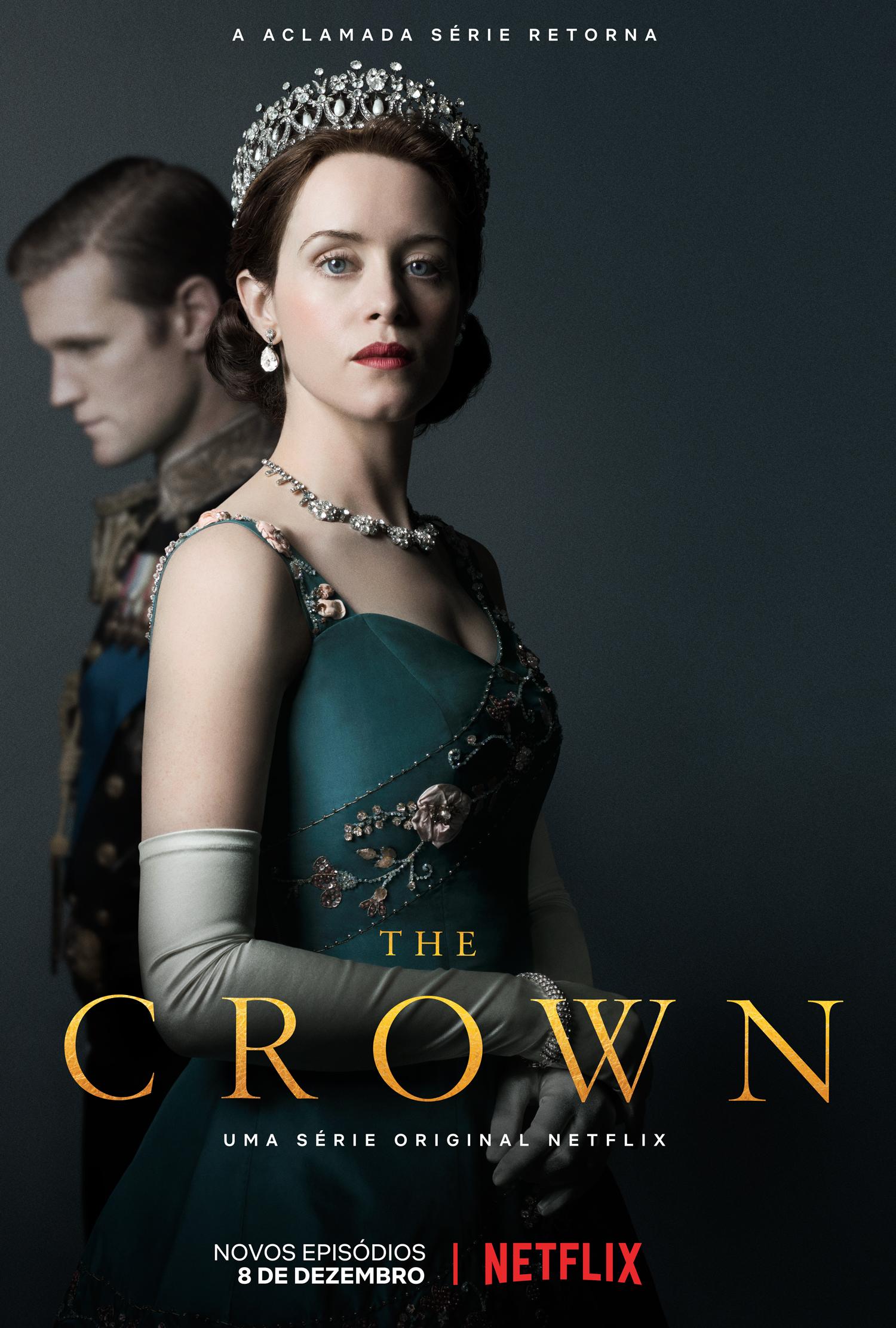 Pôster da segunda temporada de The Crown