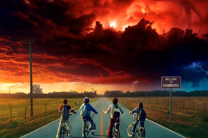 poster stranger things 2