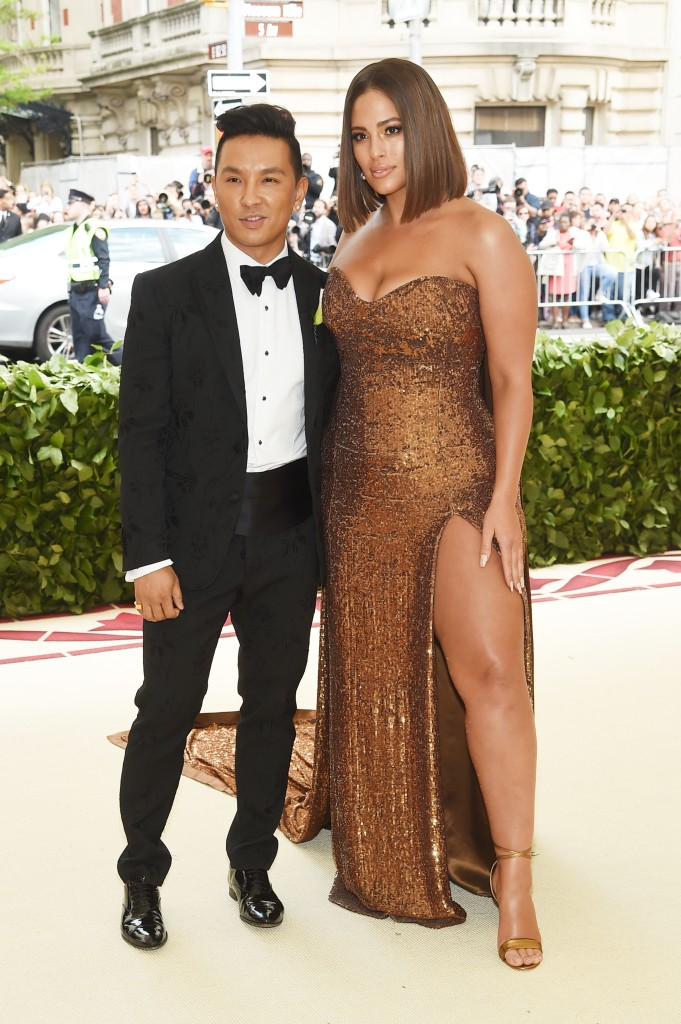 Prabal Gurung e Ashley Graham Met Gala 2018