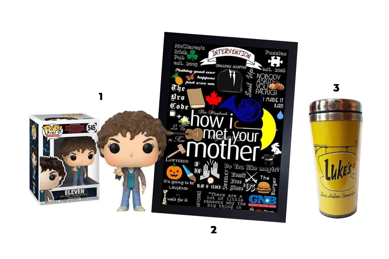 Presentes para mães que amam séries