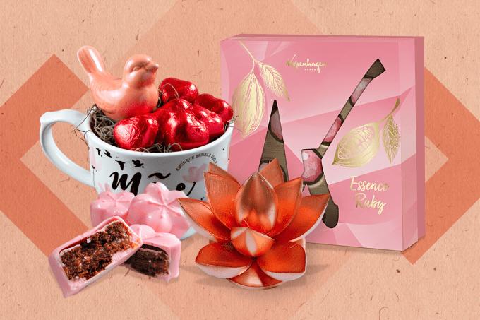 Presentes comestíveis para Dia das Mães