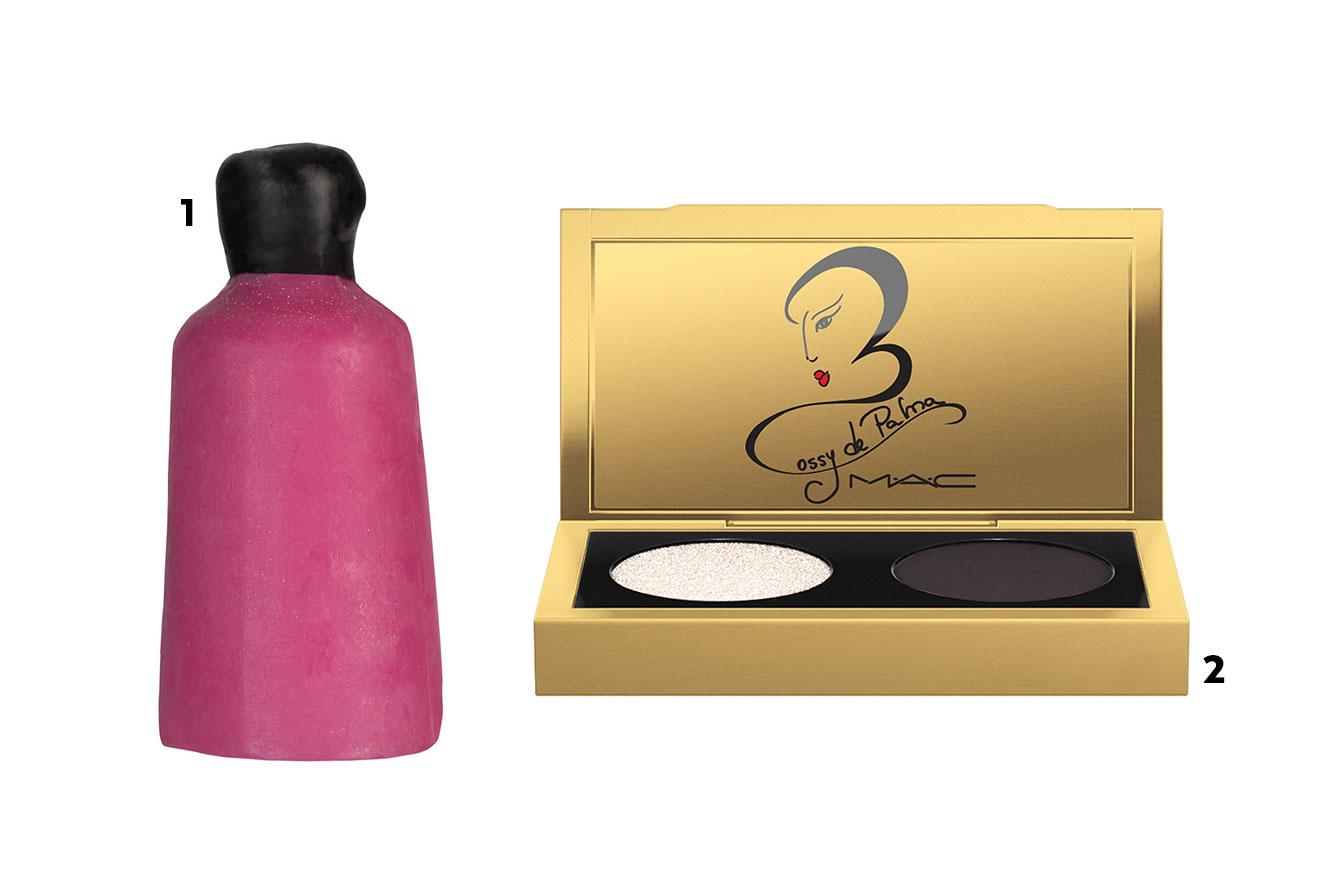 Gel de banho sólido e kit com duas sombras para presentear neste Natal