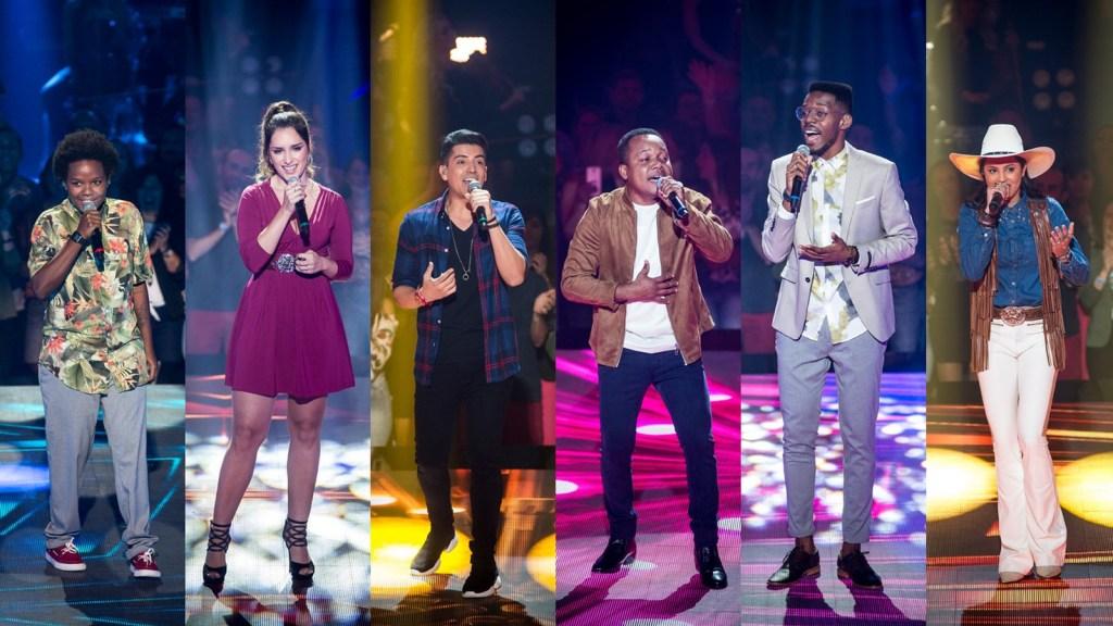 Vencedores da primeira Batalha de Técnicos do The Voice Brasil 2018