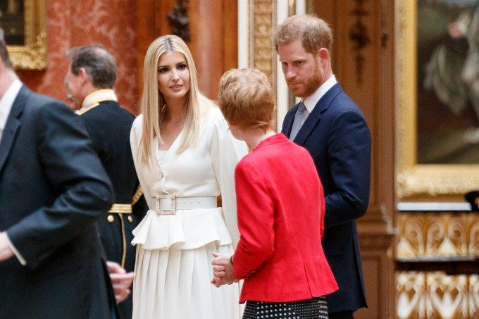 Principe Harry e Ivanka Trump