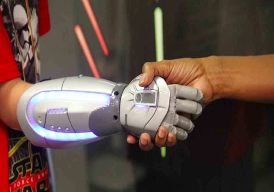 Reprodução/Open Bionics