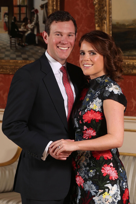 Protocolos da família real britânica - Princesa Eugenie e Jack Brooksbank