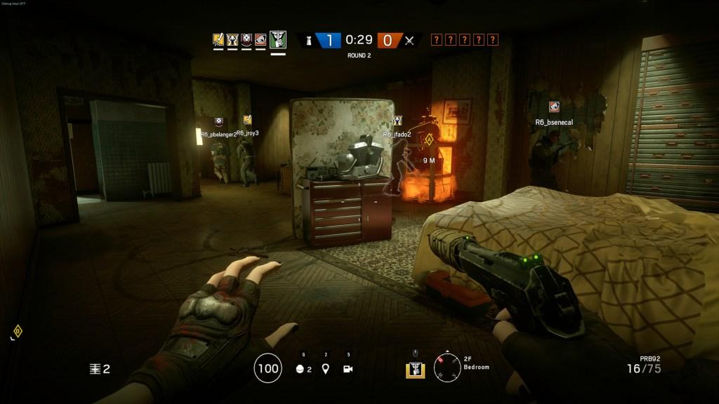 O jogo Rainbow Six Siege, da Ubisoft