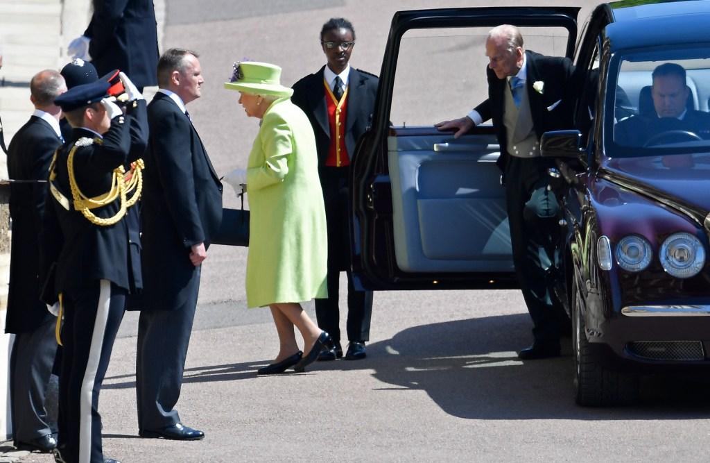Rainha Elizabeth casamento real