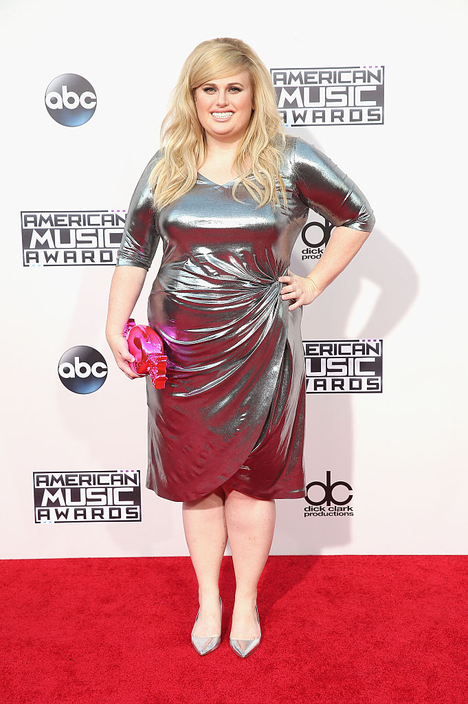 LOS ANGELES, CA - NOVEMBER 22: Actress Rebel Wilson attends the 2015 American Music Awards at Microsoft Theater on November 22, 2015 in Los Angeles, California. (Photo by Mark Davis/Getty Images)