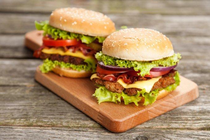 Receitas de hambúrguer caseiro