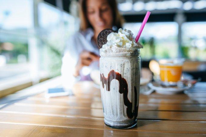 Receitas de milkshakes alcoólicos