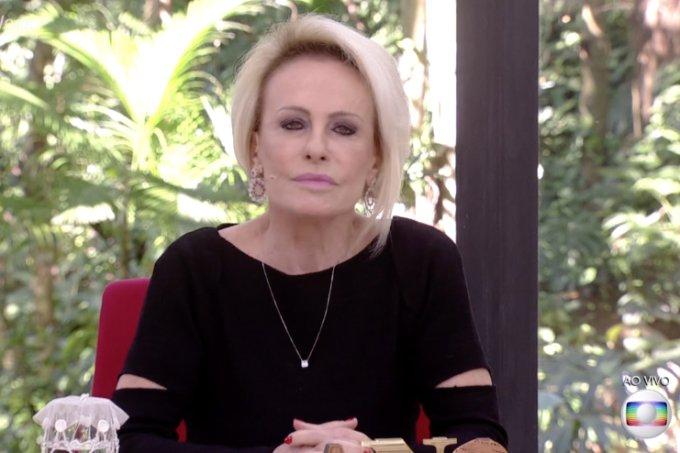 Ana Maria Braga no programa 'Mais Você'