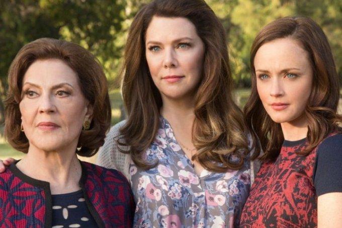 Relacionamento mãe e filha Netflix Gilmore Girls
