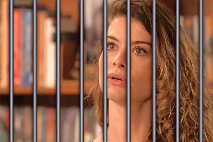 Resumo da novela Espelho da Vida, Isabel é presa
