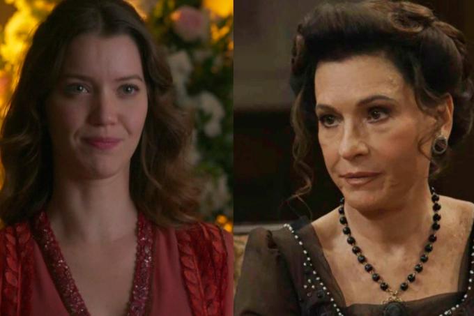 Resumo da novela Orgulho e Paixão, Elisabeta e Lady Margareth