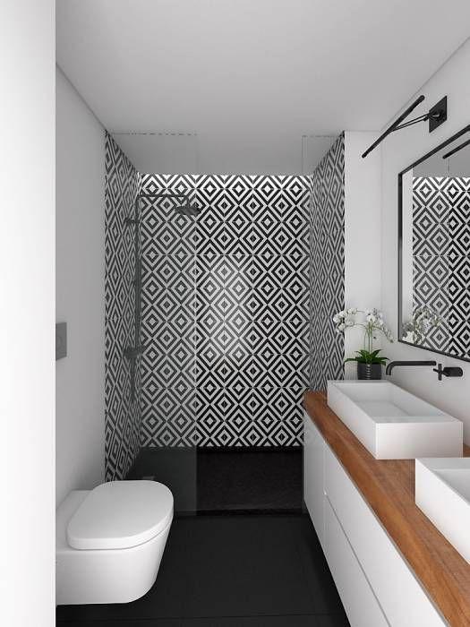 Revestimento para box de banheiro descolado