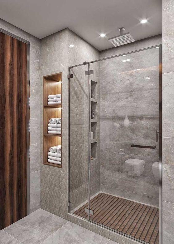 Revestimento para box de banheiro luxuoso