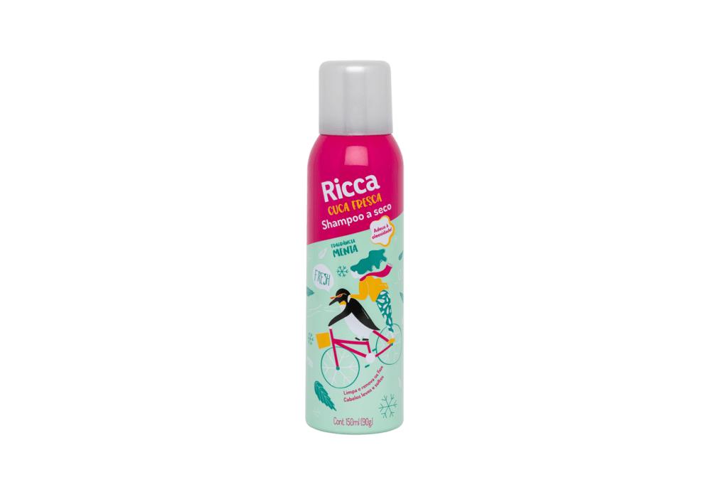 Shampoo a seco 'Cuca Fresca', Ricca