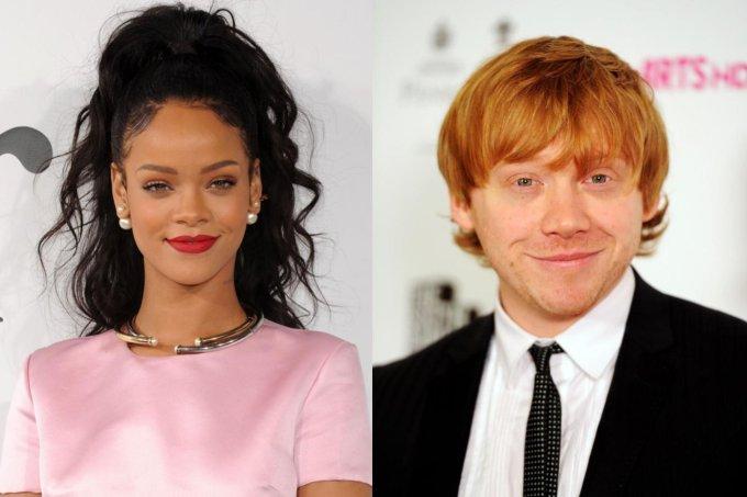 Rihanna e Rupert Grint
