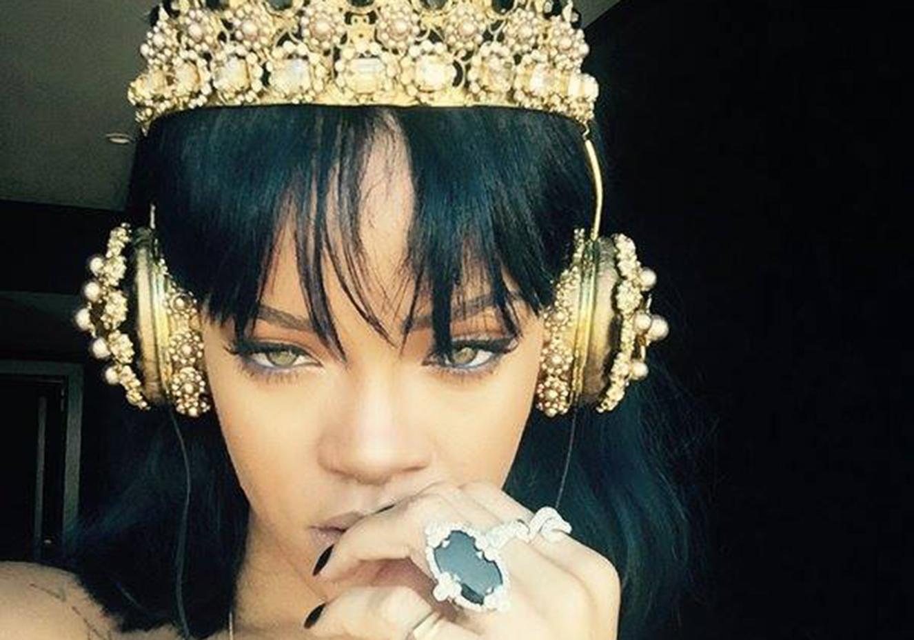 Reprodução/Facebook Rihanna
