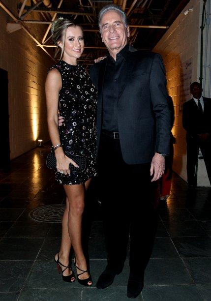 Roberto Justus e Ana Paula Siebert