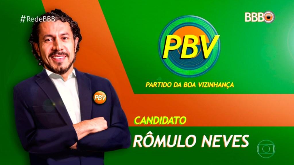 Rômulo, o diplomata BBB17