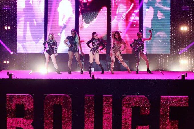 Rouge em show no Vivo Rio