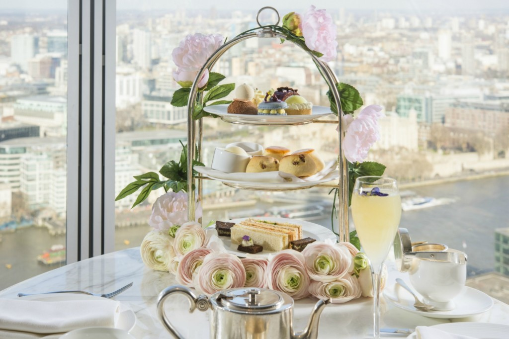 Royal Botanical Afternoon Tea at Shangri-La Hotel, At The Shard, London 4