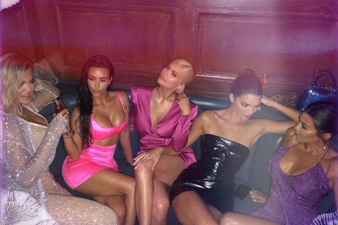 Khloe Kardashian, Kim Kardashian, Kylie Jenner, Kendall Jenner e Kris Jenner