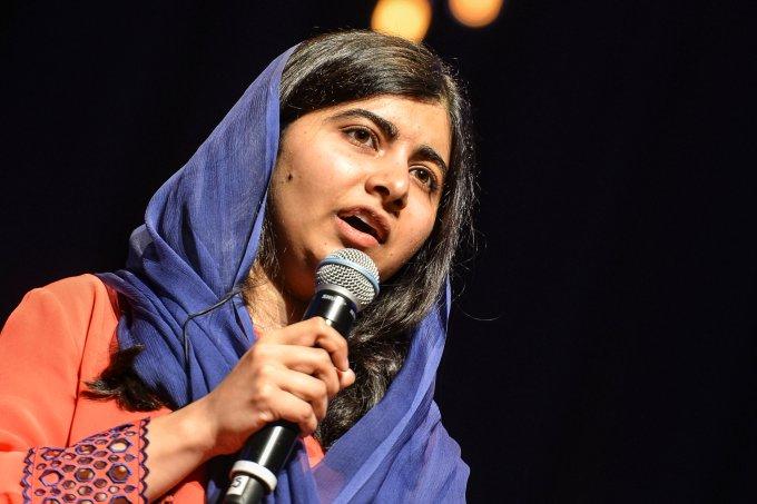 Malala em São Paulo