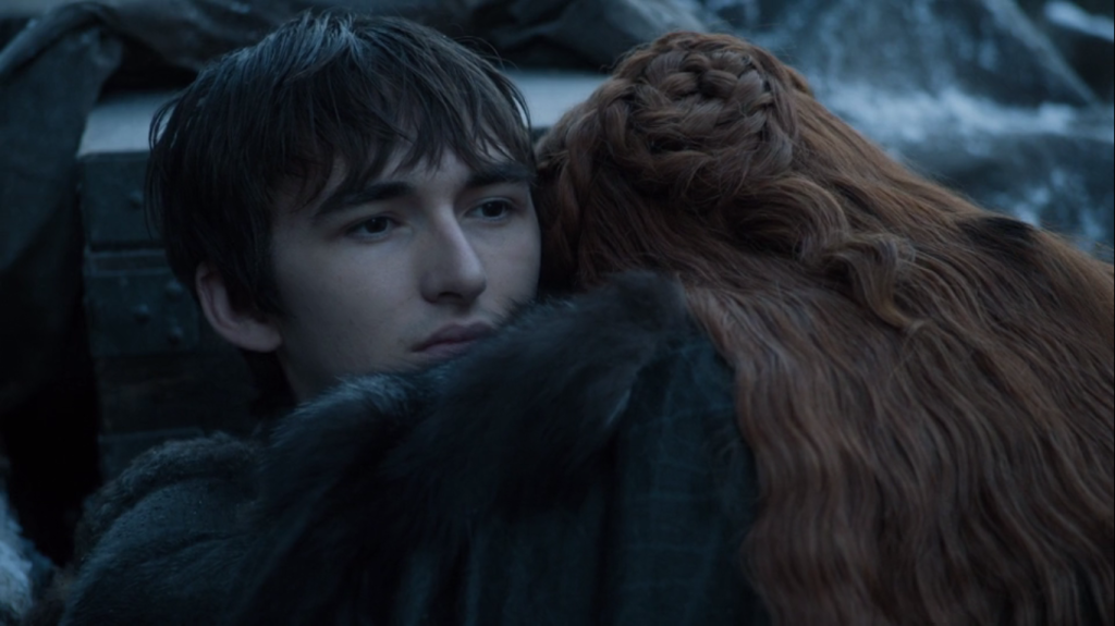 sansa stark e bran stark game of thrones