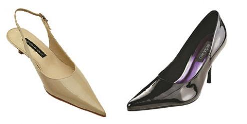 Escolha seu sapato pelo tipo de bico