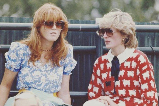 Sarah Ferguson e Diana
