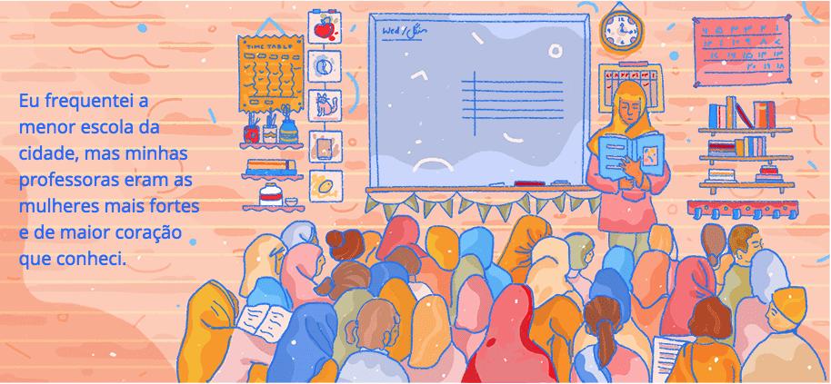 saffa khan dia internacional da mulher doodle google