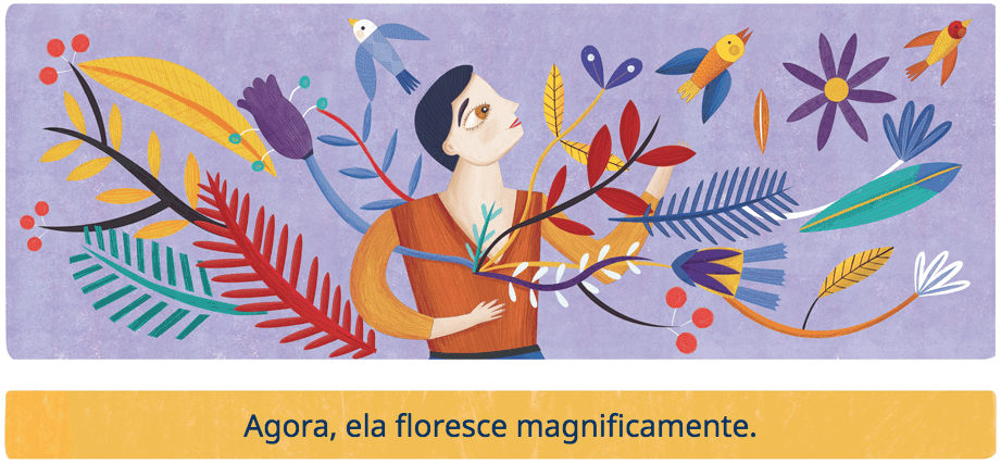 esteli meza dia internacional da mulher doodle google
