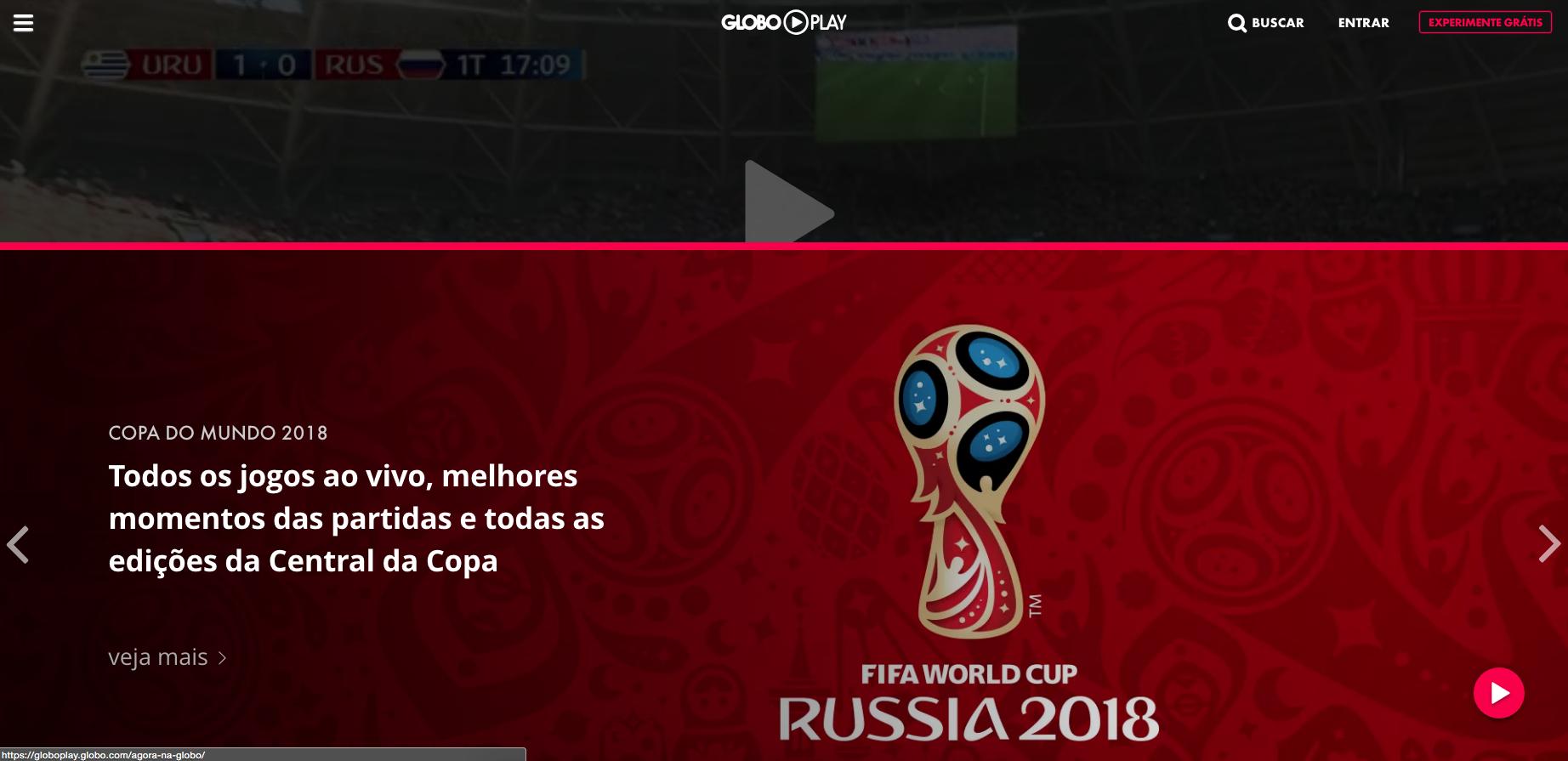 como assistir a copa do mundo pela globoplay