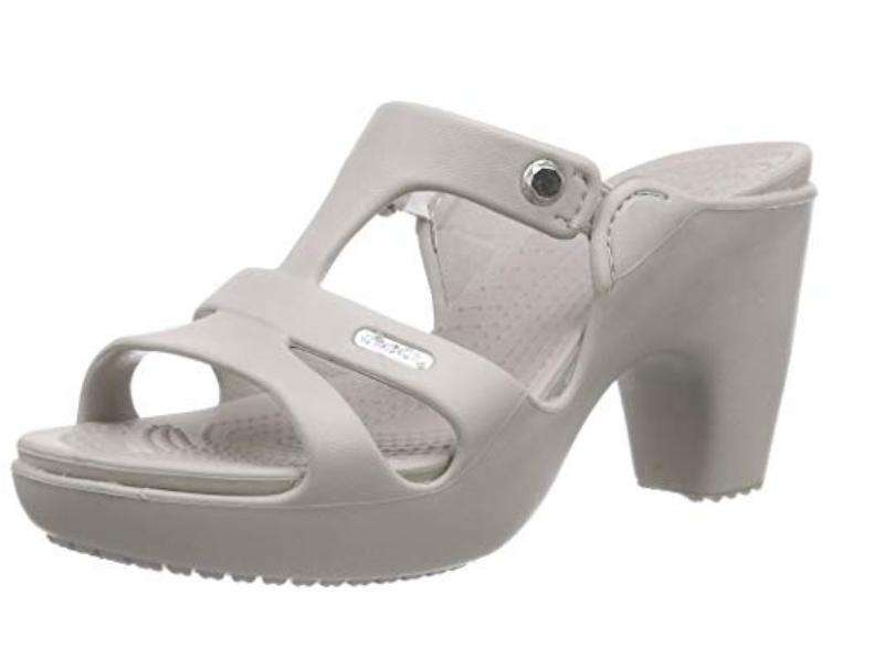 Crocs de salto platinum